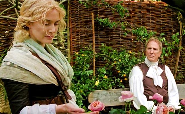 Die Gärtnerin von Versailles (Kate Winslet) und ihr König (Alan Rickman)