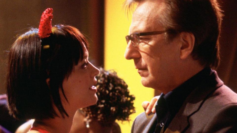 Heike Makatsch und Alan Rickman in Tatsächlich Liebe