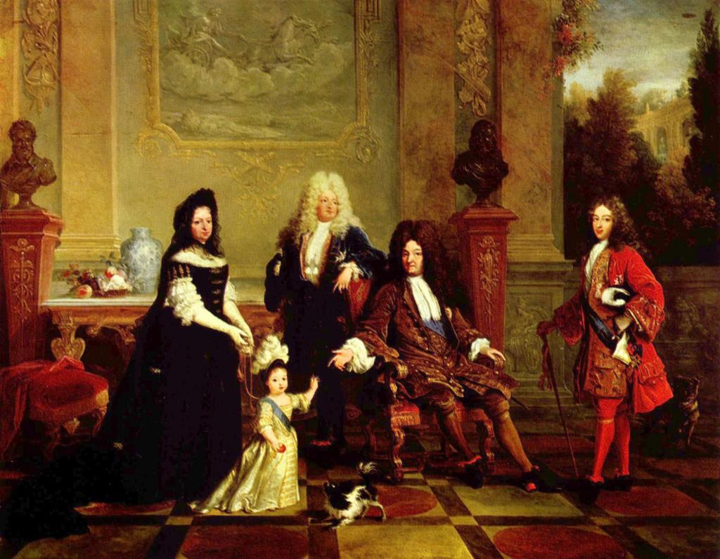 Ludwig XIV. und seine Erben