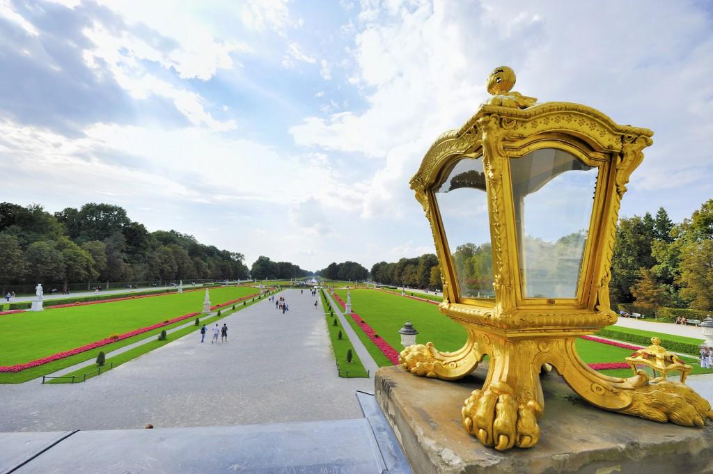 Der NYMPHENBURGER Schlosspark