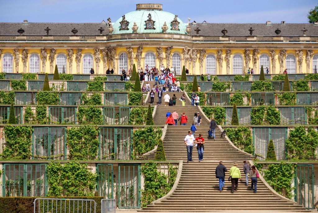 Der Park von SANSSOUCI, Potsdam