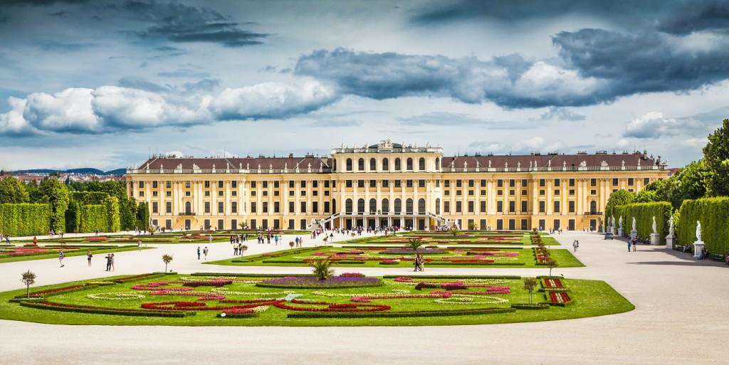 Der Schlosspark von SCHÖNBRUNN