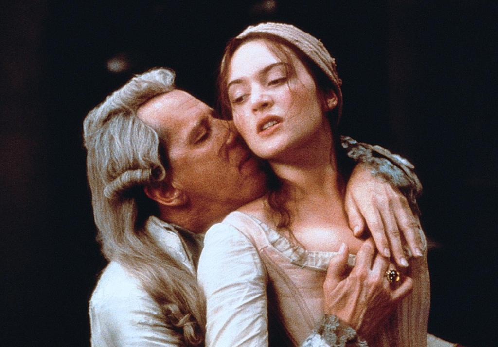 Kate Winslet und Geoffrey Rush